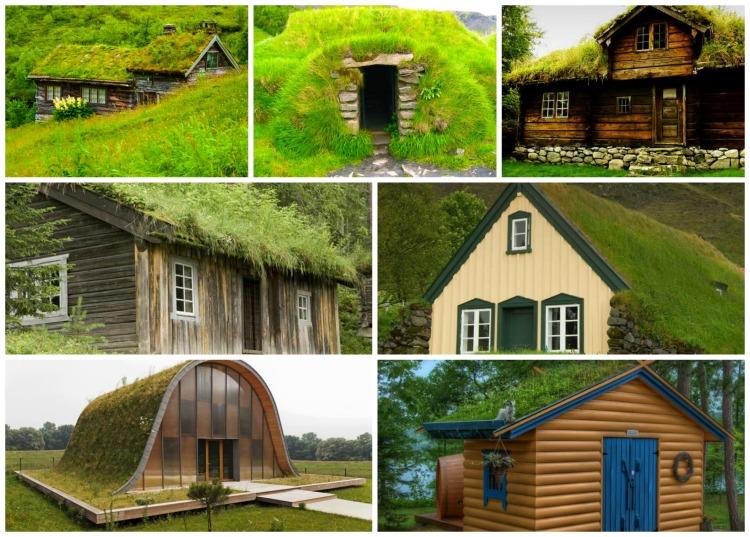 Πράσινη στέγη ιδέες