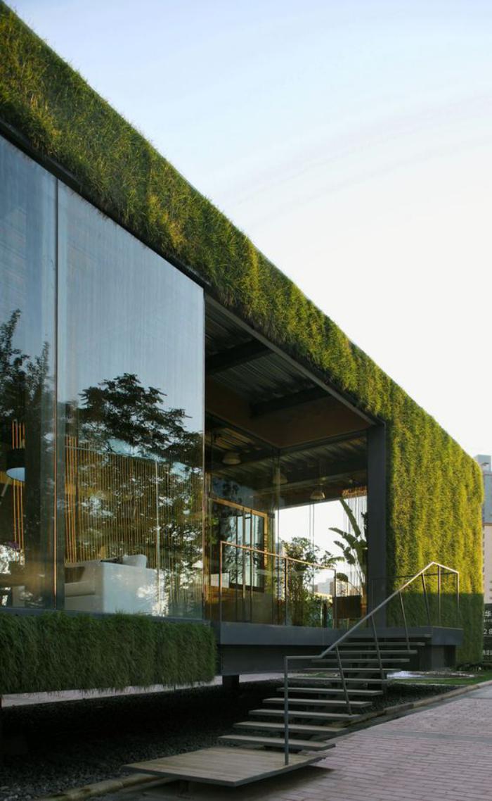 Πράσινη στέγη ιδέες27
