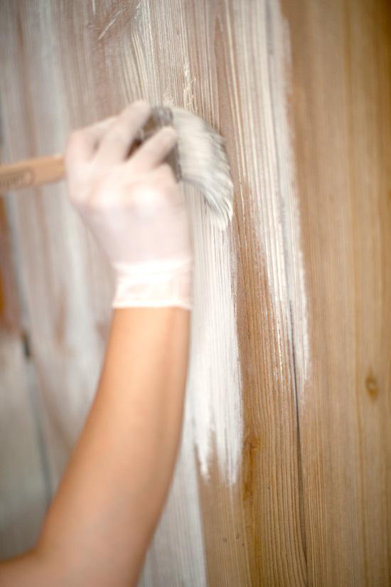 Τεχνική ξασπρίσματος ξύλου5