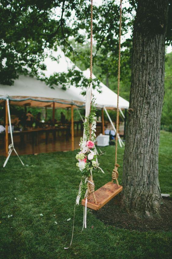 ιδέες διακόσμησης κούνιας με λουλούδια11