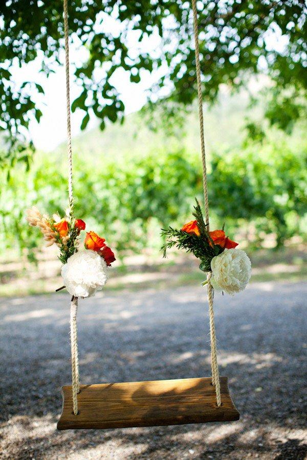 ιδέες διακόσμησης κούνιας με λουλούδια9
