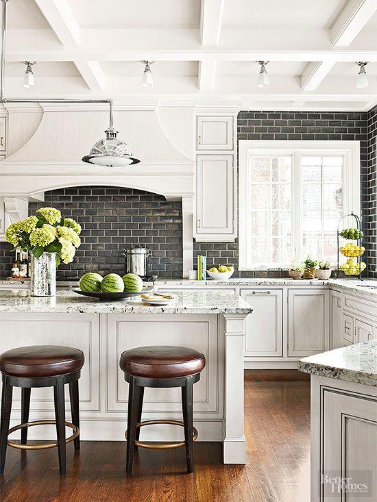 ιδέες με πέτρες, τούβλα και βότσαλα για τοίχους κουζίνας5