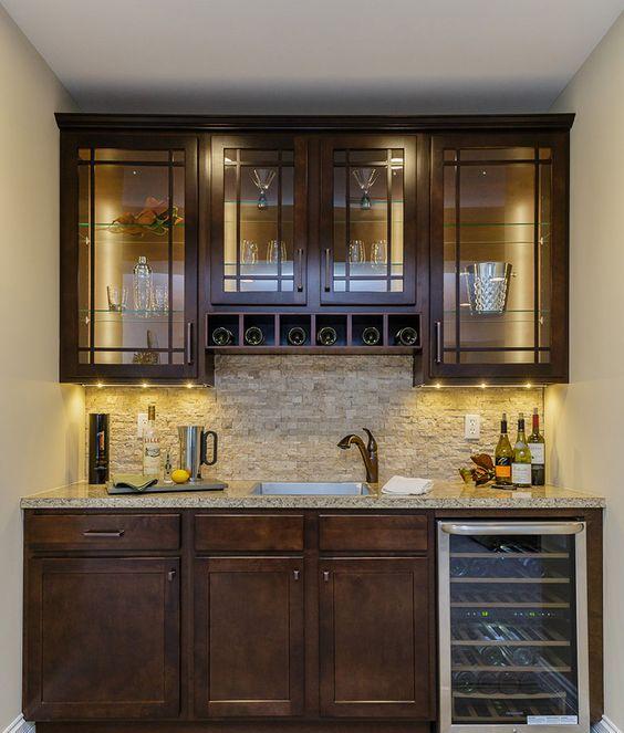 ιδέες με πέτρες, τούβλα και βότσαλα για τοίχους κουζίνας7