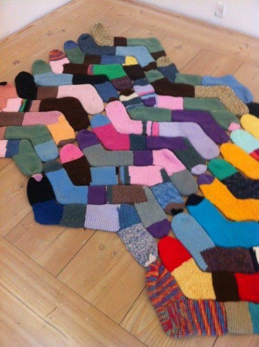 κάλτσες στη διακόσμηση του σπιτιού8