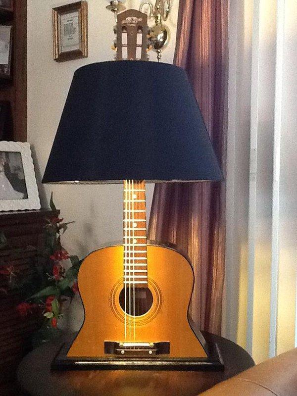 παλιές κιθάρες στη διακόσμηση του σπιτιού11