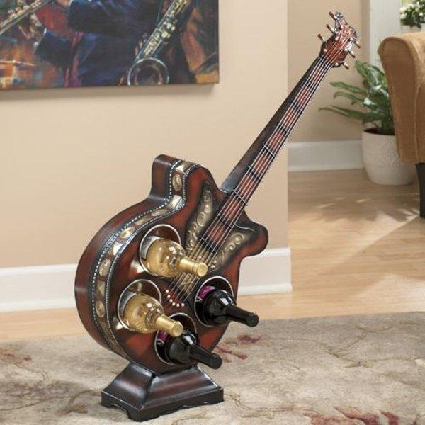 παλιές κιθάρες στη διακόσμηση του σπιτιού2