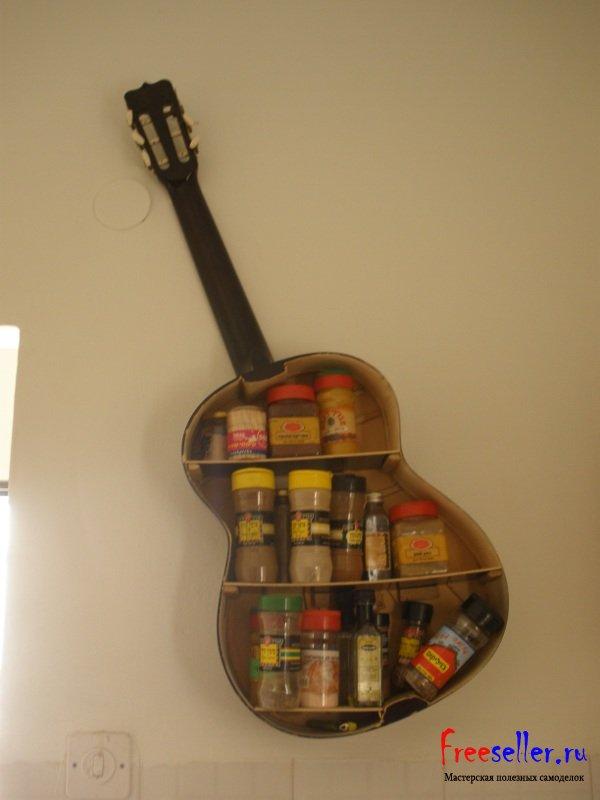 παλιές κιθάρες στη διακόσμηση του σπιτιού7