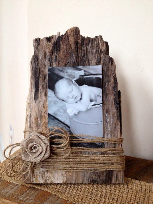 DIY Ρουστίκ έργα από ξύλο16