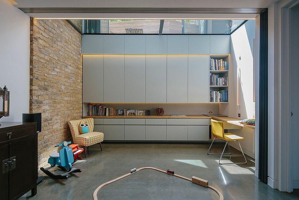 παιδικά δωμάτια με τοίχους από τούβλα10
