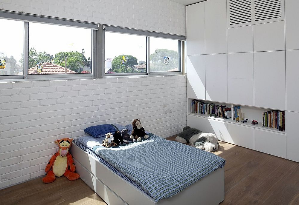 παιδικά δωμάτια με τοίχους από τούβλα23