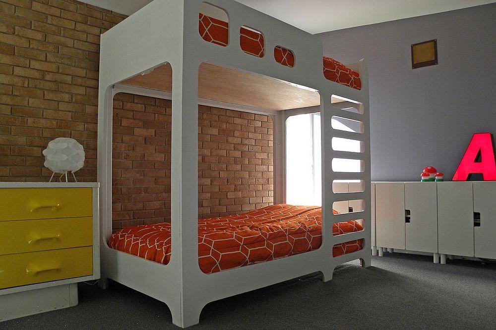 παιδικά δωμάτια με τοίχους από τούβλα25