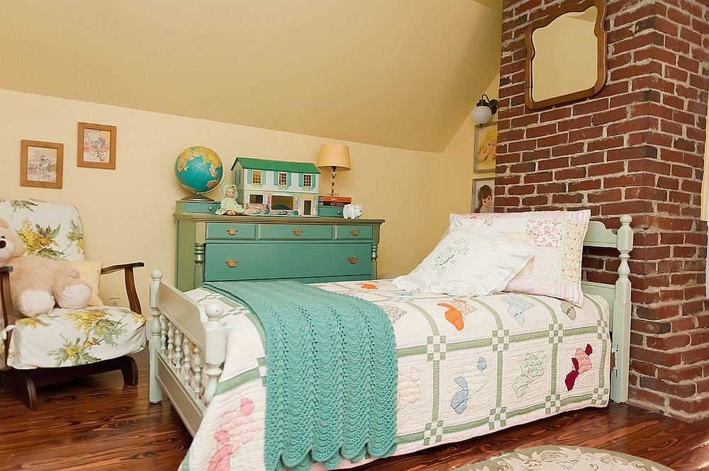 παιδικά δωμάτια με τοίχους από τούβλα7