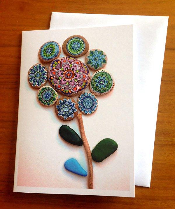 DIY ιδέες διακόσμησης με βαμμένες πέτρες και βότσαλα12