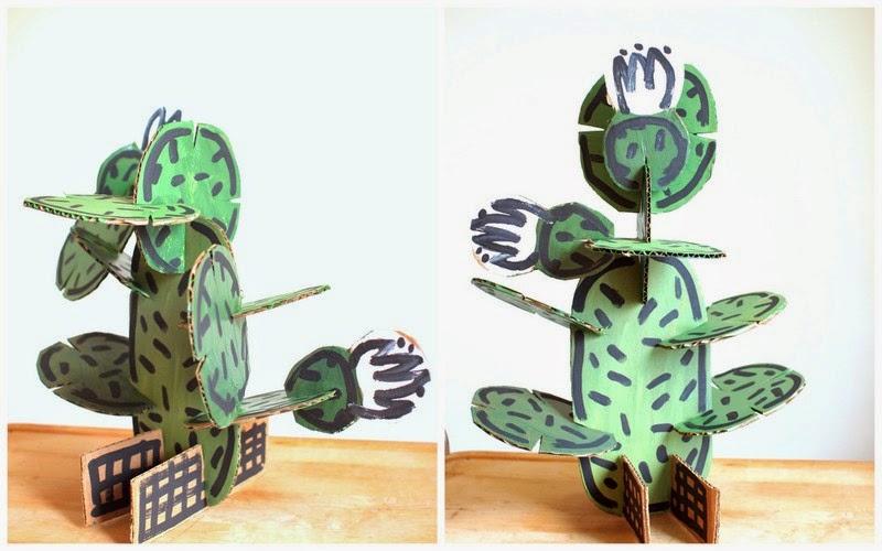 diy ψεύτικα έργα και ιδέες με κάκτους & παχύφυτα8