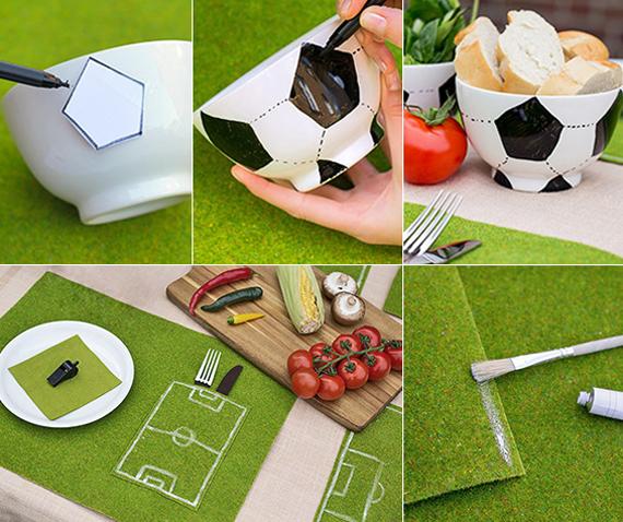 Ιδέες διακόσμησης για ποδοσφαιρόφιλους4