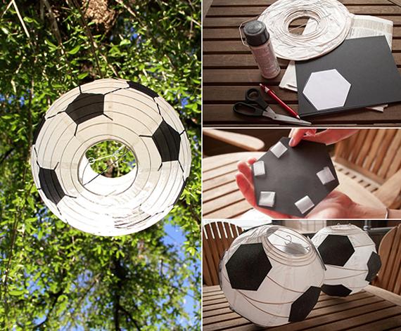 Ιδέες διακόσμησης για ποδοσφαιρόφιλους8