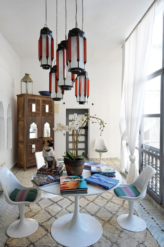 μαροκινή τραπεζαρία ιδέες10