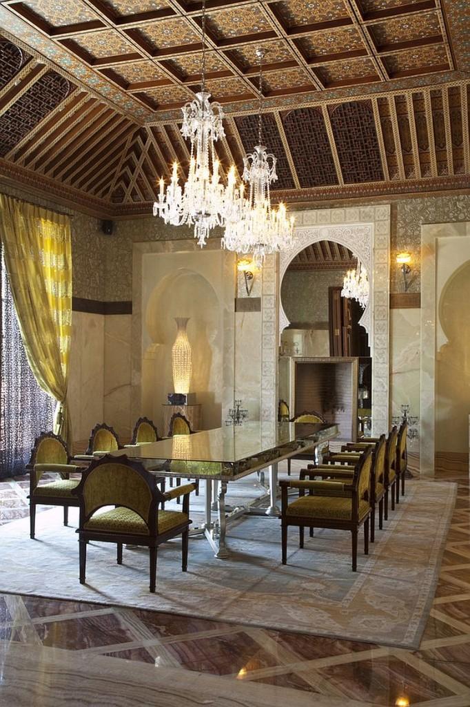 μαροκινή τραπεζαρία ιδέες6