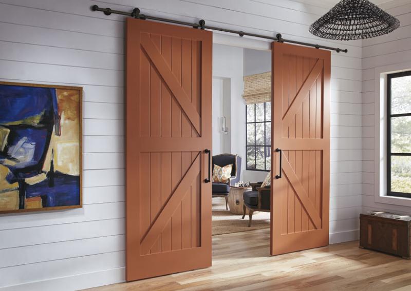 πόρτες αχυρώνα στη διακόσμηση22
