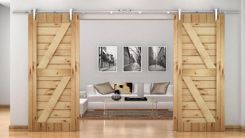 Ιδέες του πώς να εισαγάγετε πόρτες αχυρώνα σε ένα μοντέρνο σπίτι