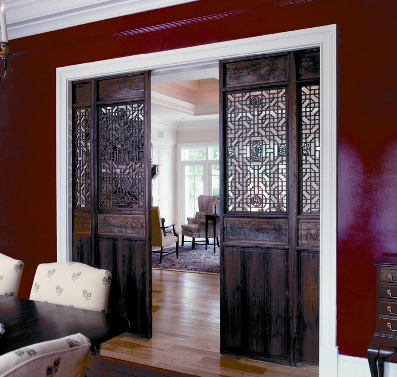 πόρτες αχυρώνα στη διακόσμηση9