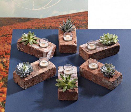 Diy Ιδέες με τούβλα1