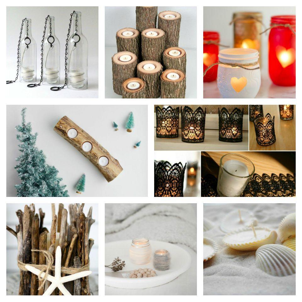 35 Diy ιδέες με κηροπήγια για φως και πρωτοτυπία