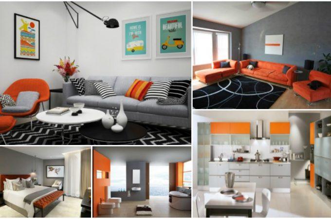 Πώς να διακοσμήσετε το σπίτι σας με πορτοκάλι και γκρι αυτό το Φθινόπωρο