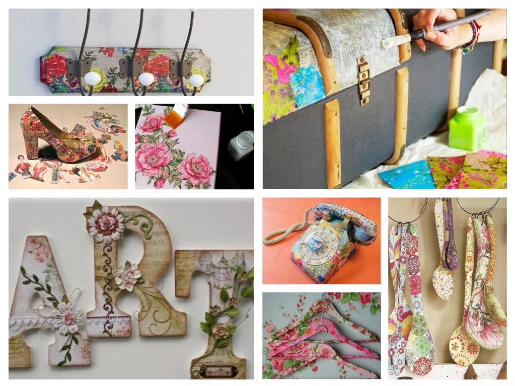Χαρτοπετσέτα ή διακοσμητικό μπάλωμα - πάνω από 70 DIY ιδέες για δημιουργική διακόσμηση