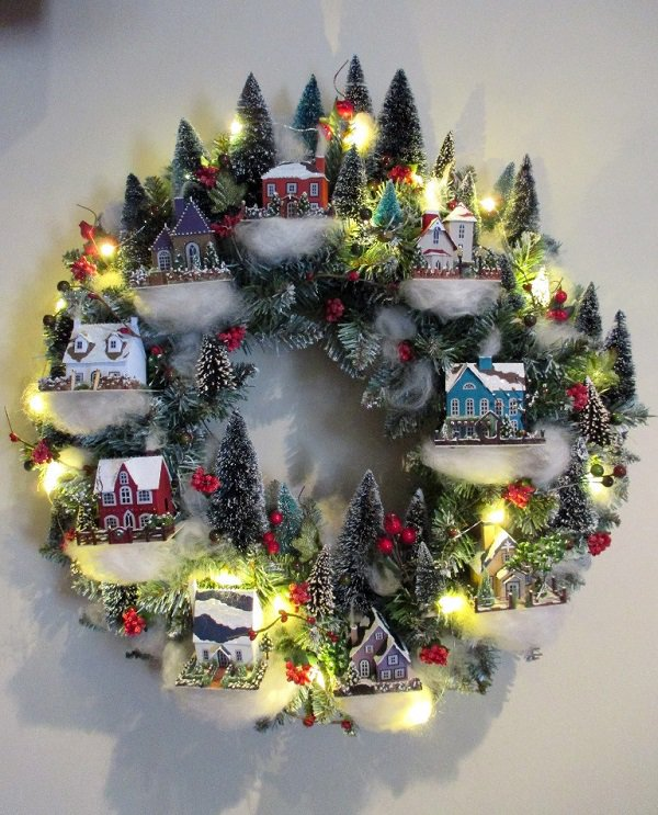 30+ Υπέροχα DIY Χριστουγεννιάτικα Στεφάνια