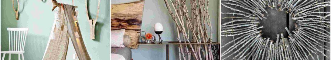 Διακόσμηση από κλαδιά ξύλου