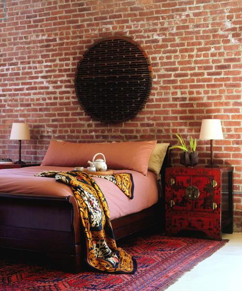 Ιδέες διακόσμησης για ένα τοίχο από τούβλα14