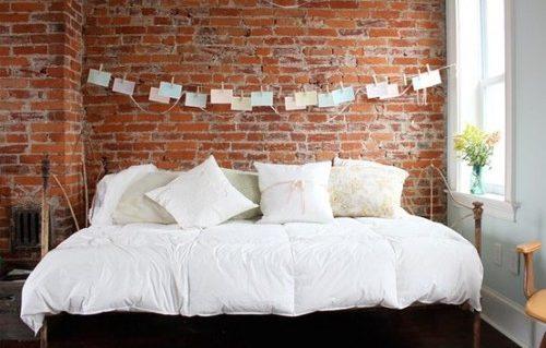 Ιδέες διακόσμησης για ένα τοίχο από τούβλα18