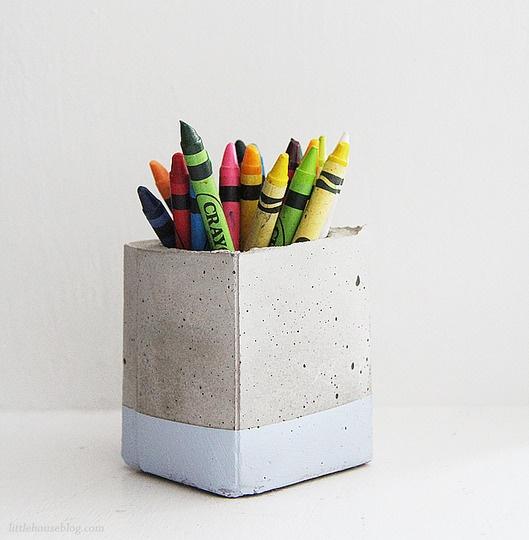 DIY διακοσμητικές ιδέες με τσιμέντο27