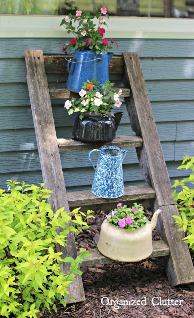 Vintage ιδέες διακόσμησης κήπου10