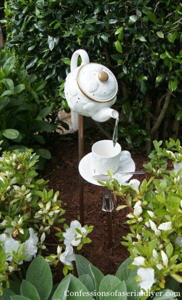 Vintage ιδέες διακόσμησης κήπου17