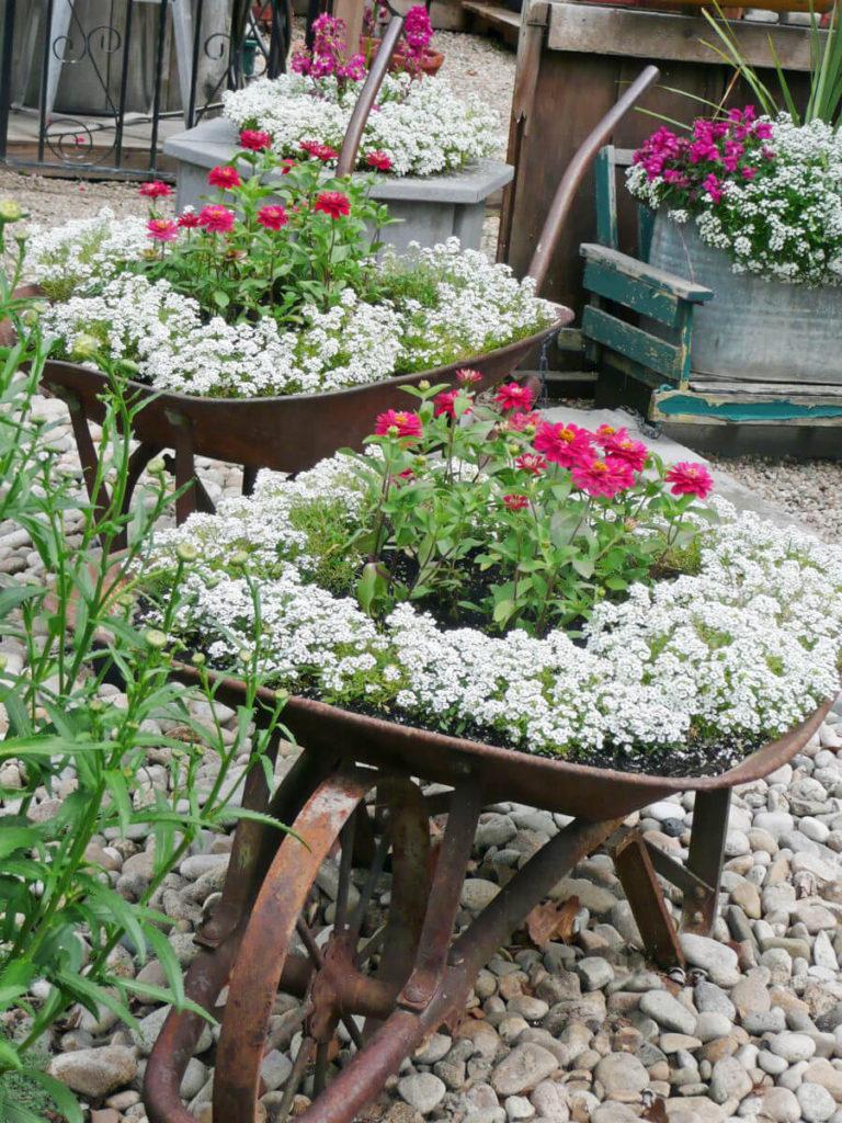Vintage ιδέες διακόσμησης κήπου2