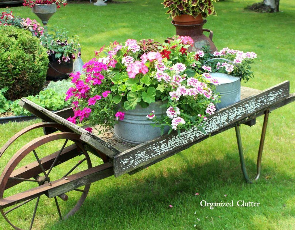 Vintage ιδέες διακόσμησης κήπου21