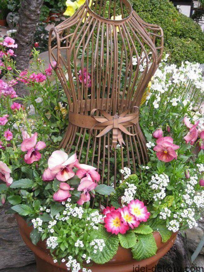 Vintage ιδέες διακόσμησης κήπου27