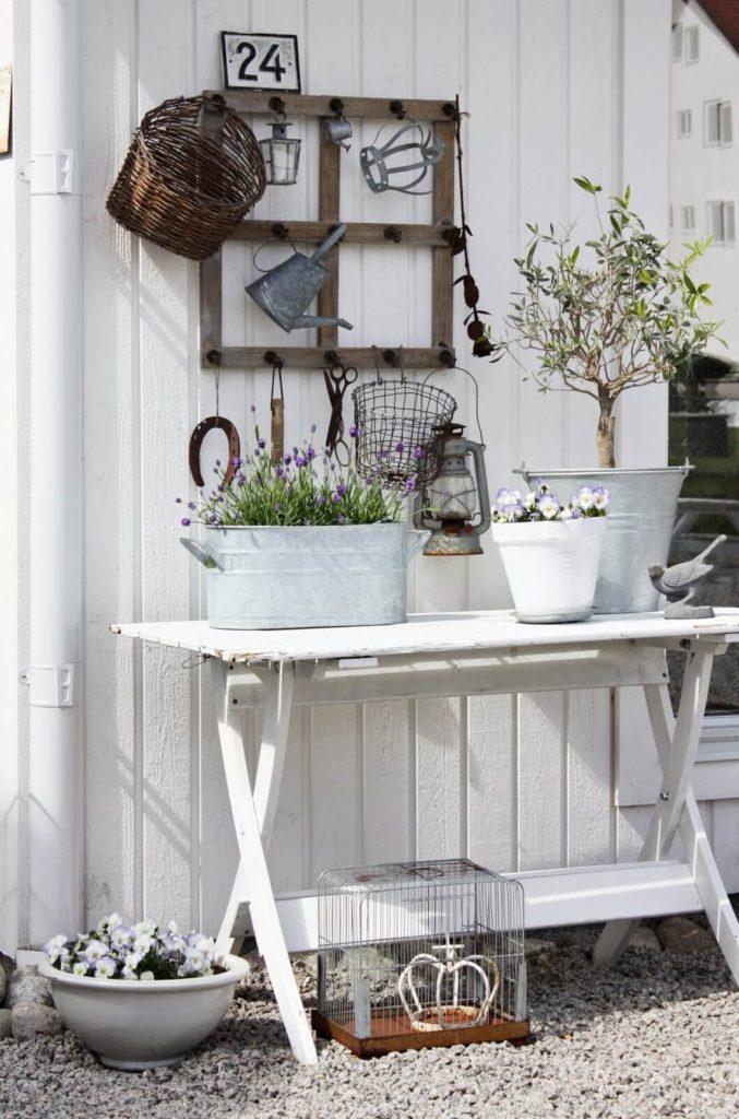 Vintage ιδέες διακόσμησης κήπου28