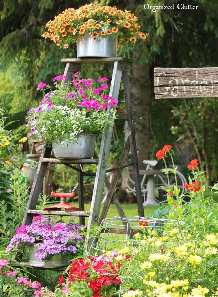 Vintage ιδέες διακόσμησης κήπου3