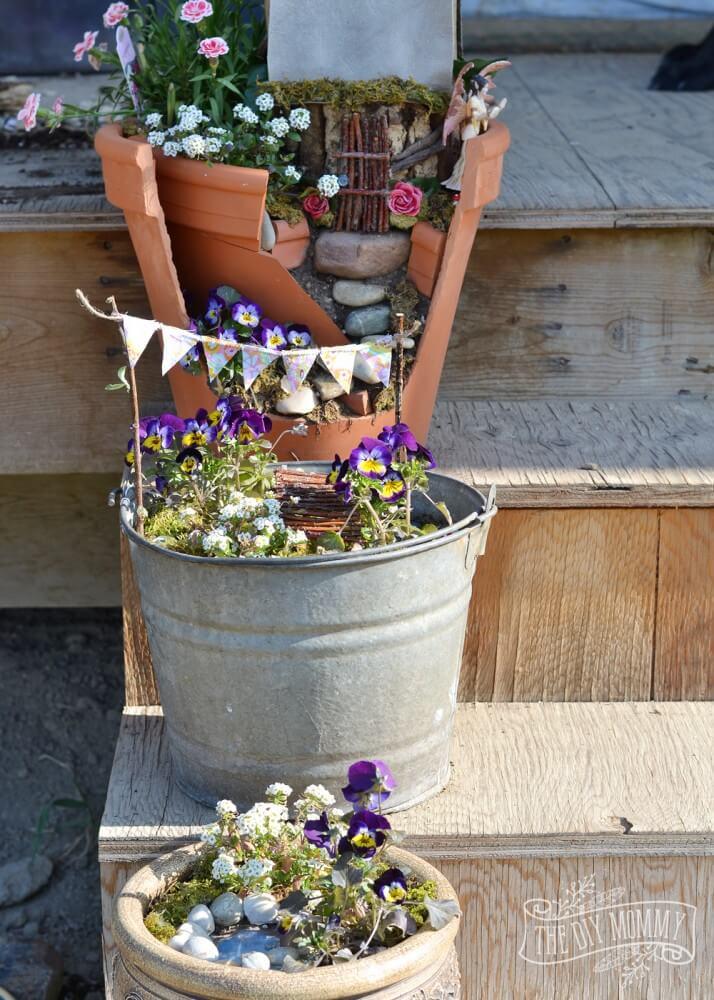Vintage ιδέες διακόσμησης κήπου30