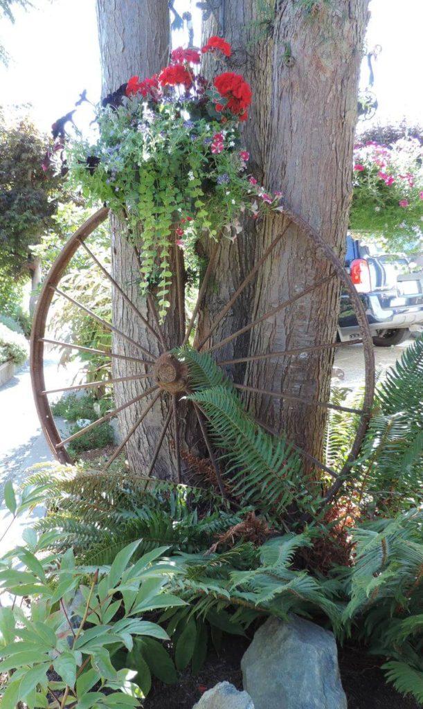 Vintage ιδέες διακόσμησης κήπου33
