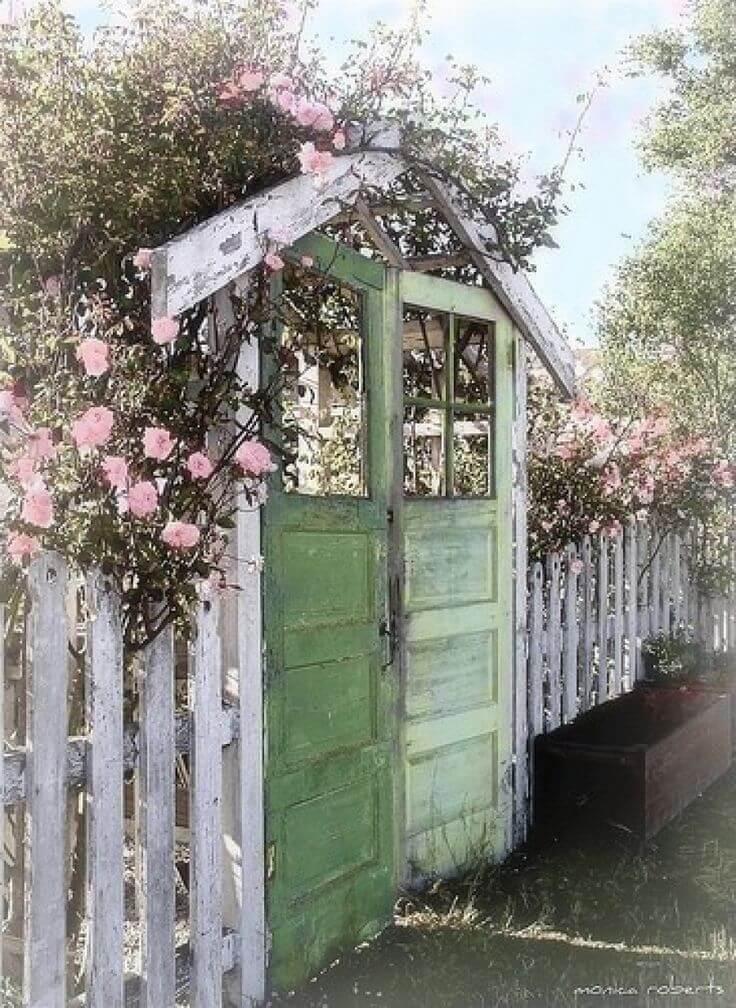 Vintage ιδέες διακόσμησης κήπου34