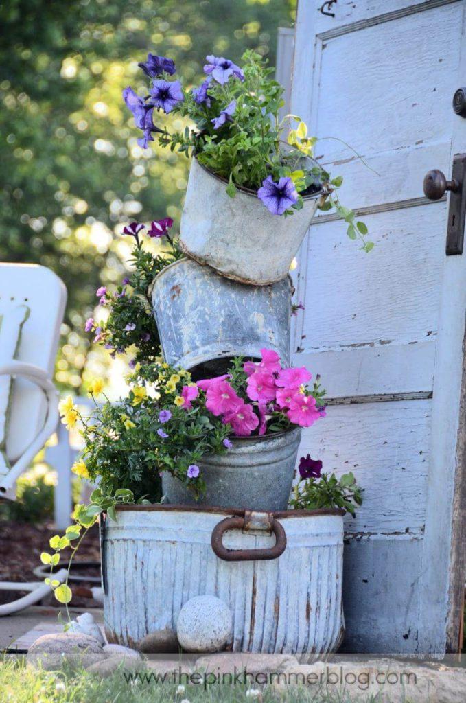 Vintage ιδέες διακόσμησης κήπου4