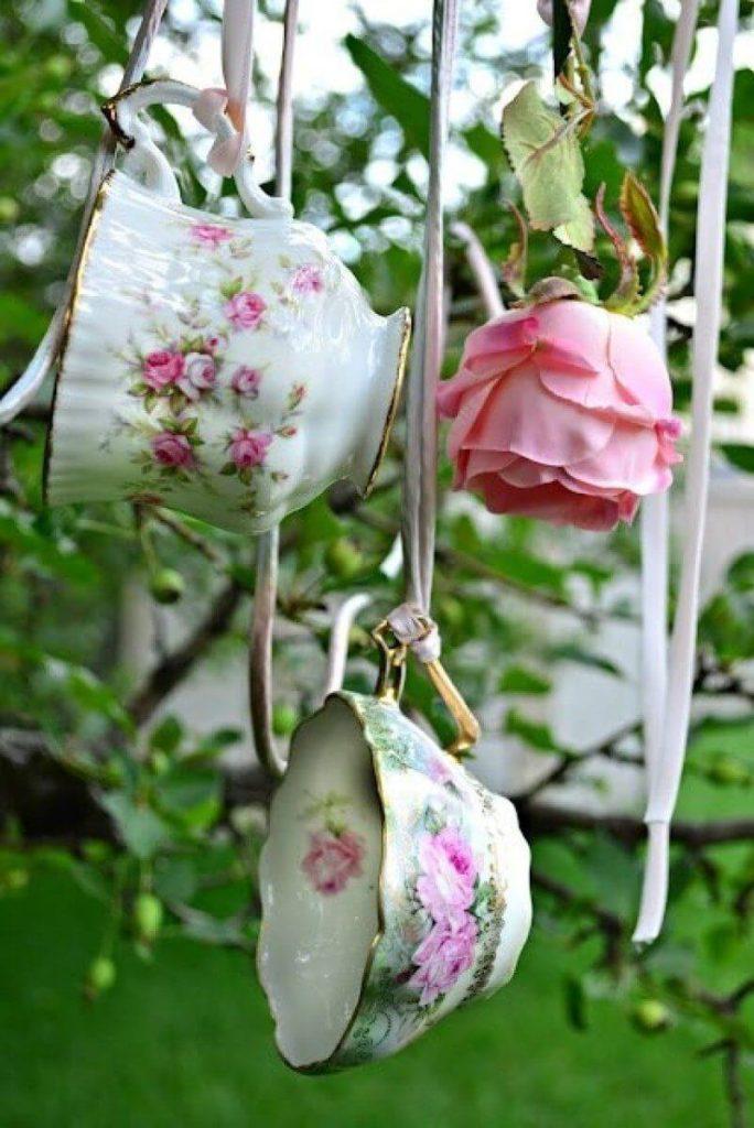 Vintage ιδέες διακόσμησης κήπου5