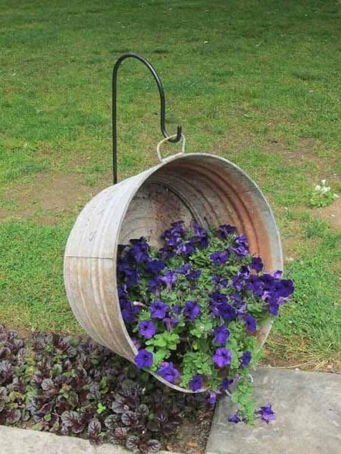 Vintage ιδέες διακόσμησης κήπου6
