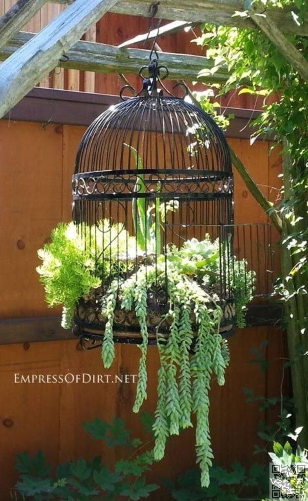 Vintage ιδέες διακόσμησης κήπου7