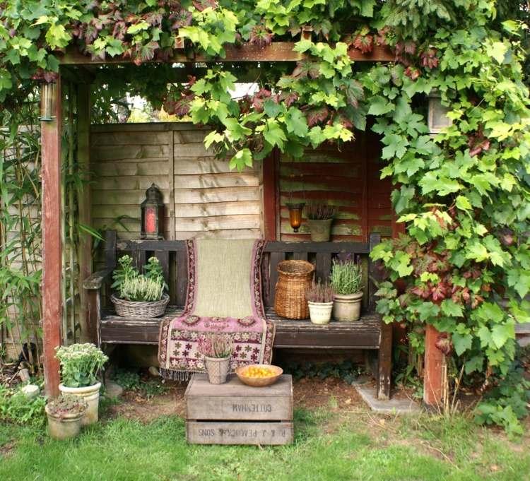 διακόσμηση κήπου Shabby Chic13