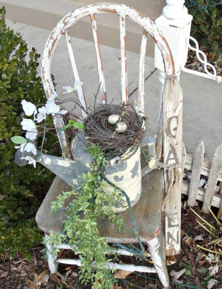 διακόσμηση κήπου Shabby Chic5